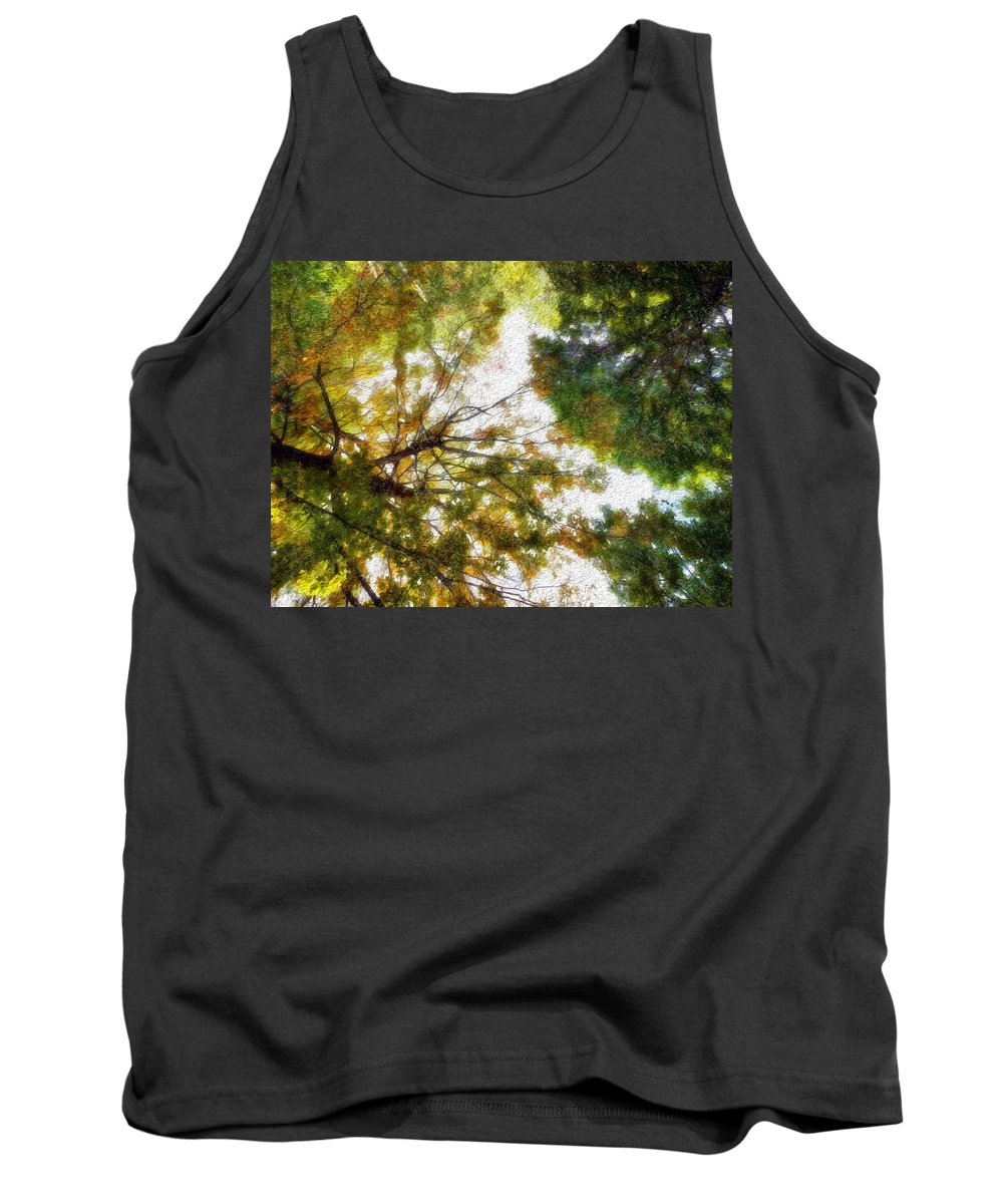 Fall Tank Top featuring the photograph Fall Iv by Tina Baxter