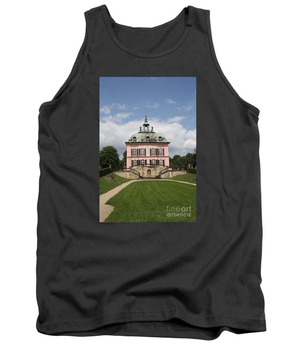 Palace Tank Top featuring the photograph Fasanen Schloesschen - Germany  Pheasant Palace by Christiane Schulze Art And Photography