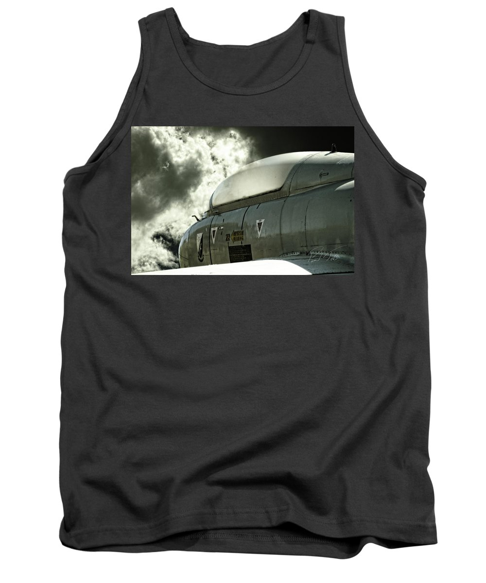 Aermacchi Mb-326 / Atlas Mb-326m Impala Tank Top featuring the photograph Into The Clouds by Paul Job