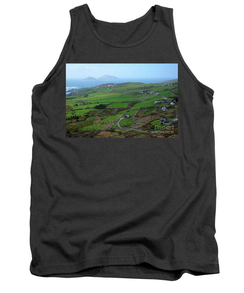 Irish Tank Top featuring the photograph Irish Coast by DejaVu Designs