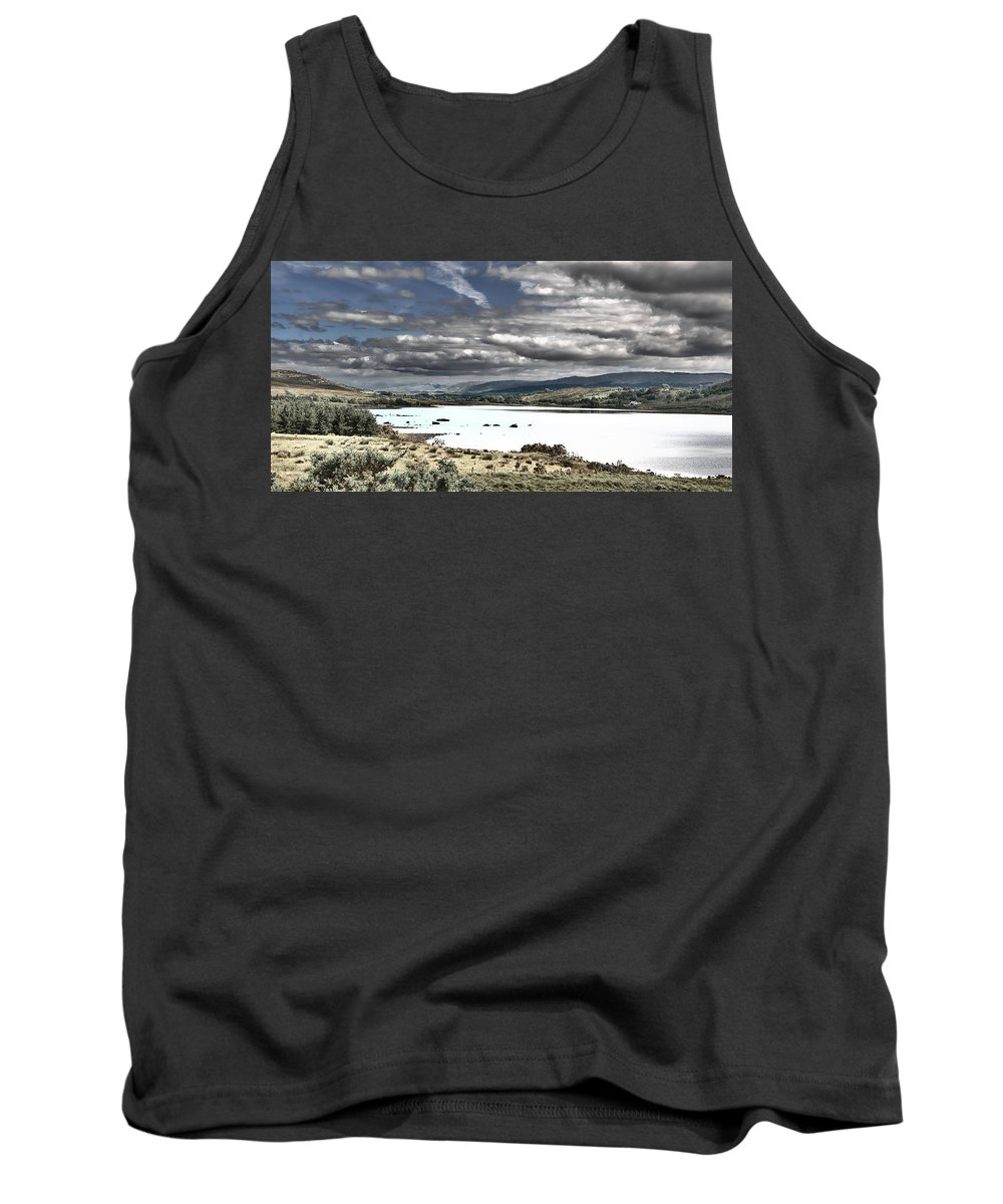 Nature Tank Top featuring the photograph Irish Landscape by David Resnikoff