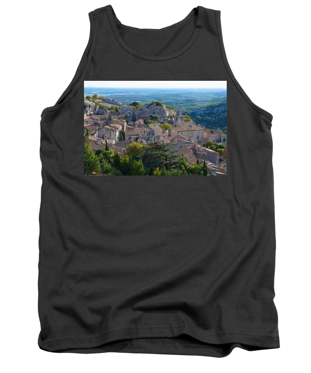 La Provence Tank Top featuring the photograph La Provence by Hans Heinz
