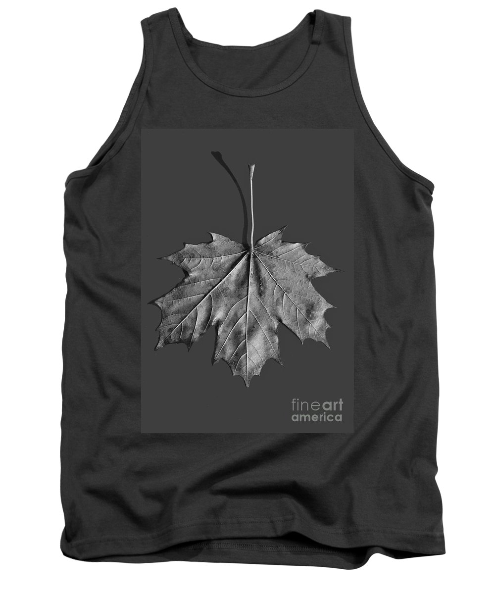 Maple Tank Top featuring the photograph Maple Leaf by Steven Ralser