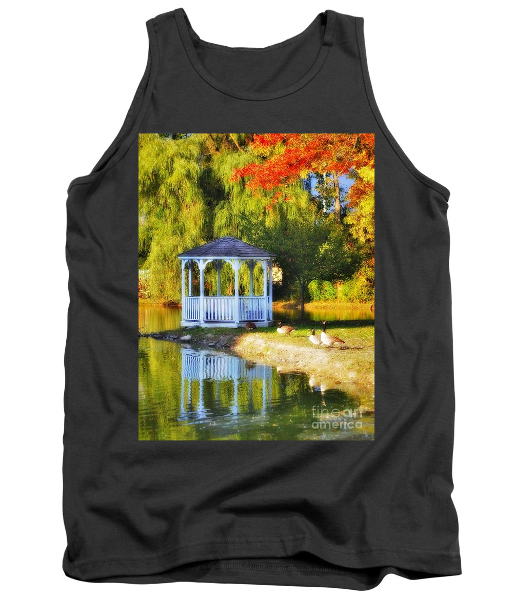 Tank Top featuring the photograph Maples Farm 2 by Chet B Simpson