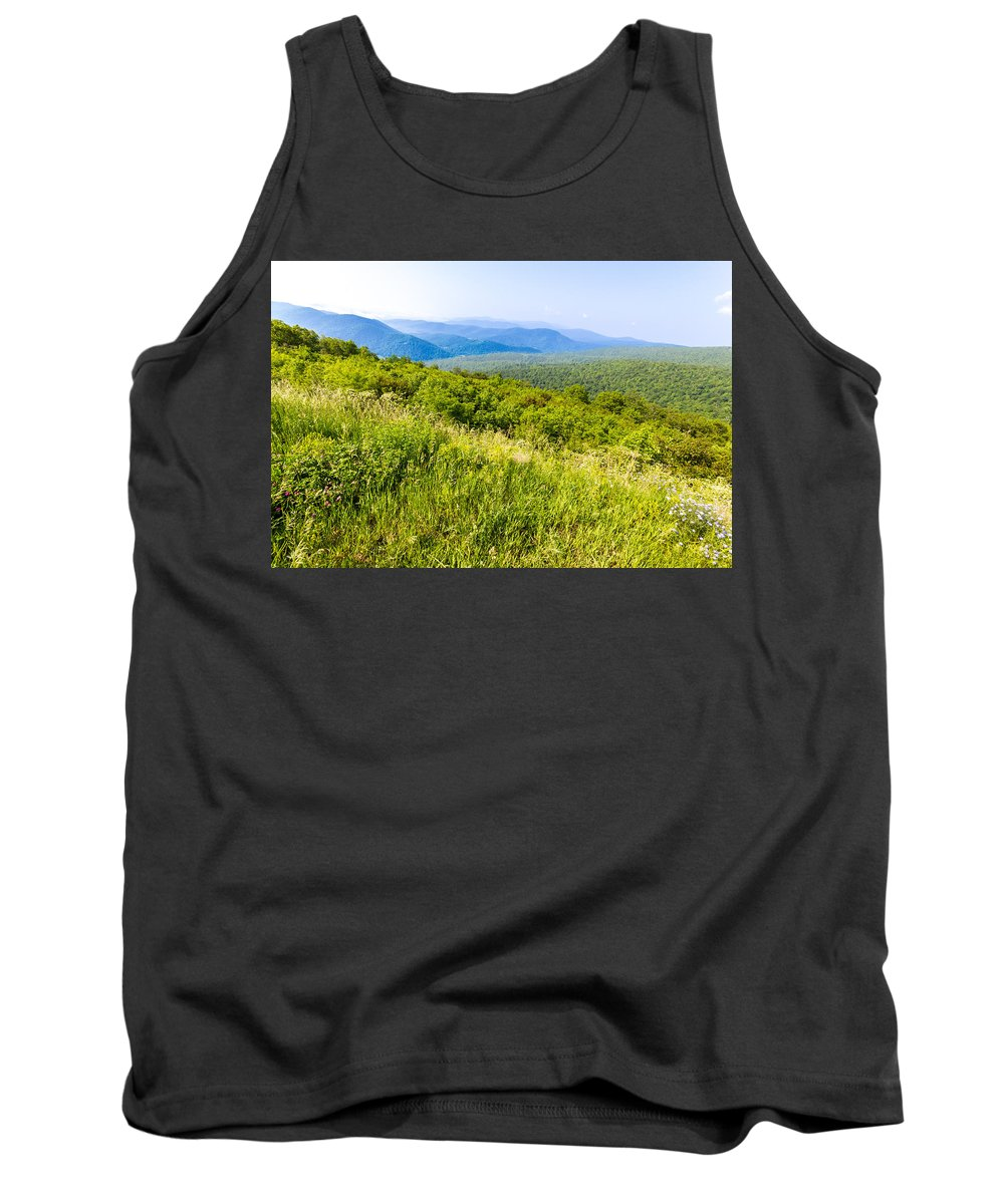 Meadow Tank Top featuring the photograph Meadow by Gaurav Singh
