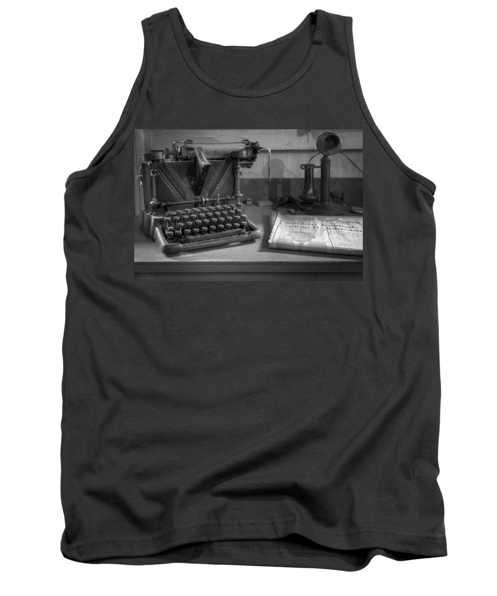 Kennedy Tank Top featuring the photograph Memories by Debra and Dave Vanderlaan