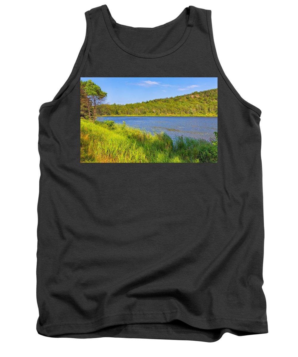 Landscape Tank Top featuring the photograph Mount Desert Island by John M Bailey