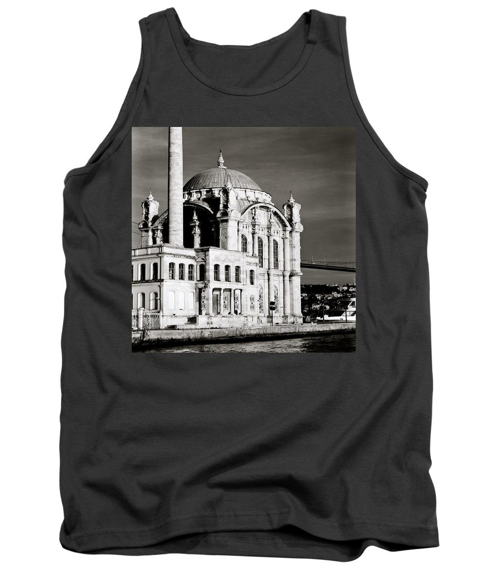 Istanbul Tank Top featuring the photograph Ortakoy by Shaun Higson