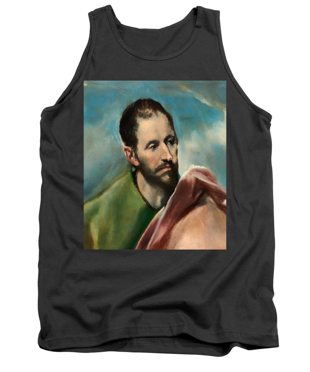 Painting Tank Top featuring the painting Saint James The Younger by Mountain Dreams