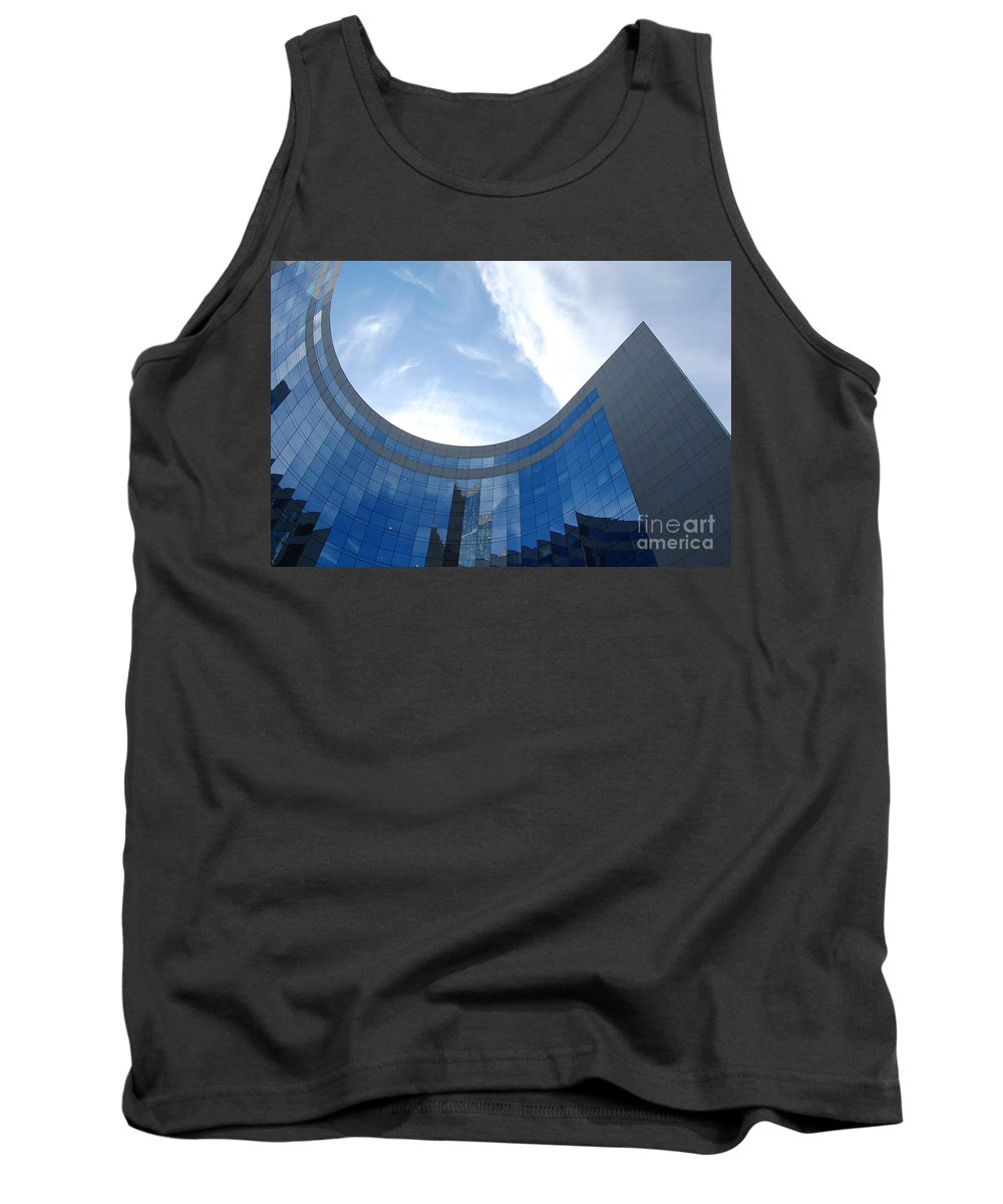 Architectural Tank Top featuring the photograph Skyscraper by Michal Bednarek