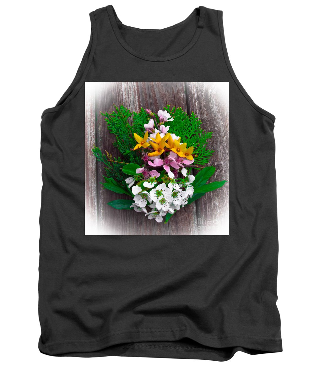 Spring Tank Top featuring the photograph Spring Bouquet by Scott Hervieux