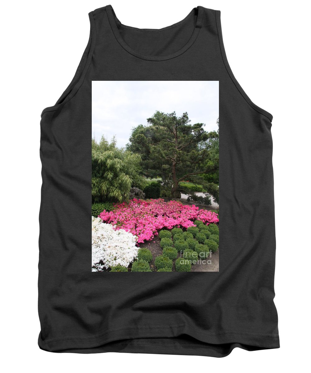 Spring Tank Top featuring the photograph Springtime In The Park by Christiane Schulze Art And Photography