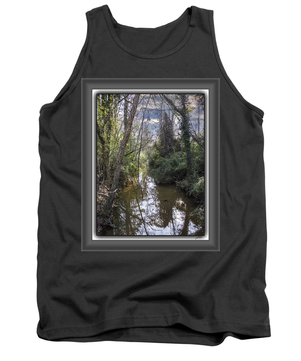 Landscape Tank Top featuring the photograph Suburban Jungle by Thomas Fields