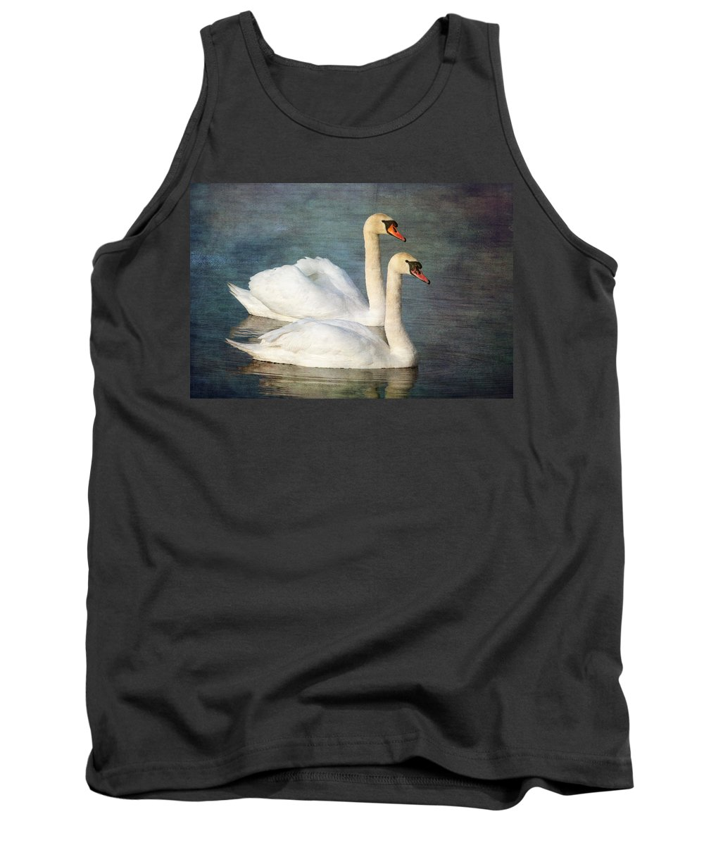 Mute Swan Tank Top featuring the photograph Swan by Chris Smith