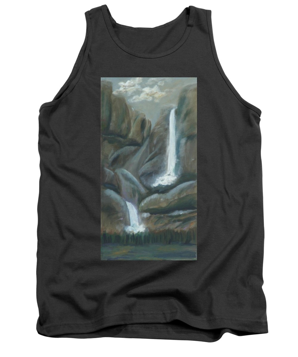 Gail Daley Tank Top featuring the painting Tears Of The Moon by Gail Daley