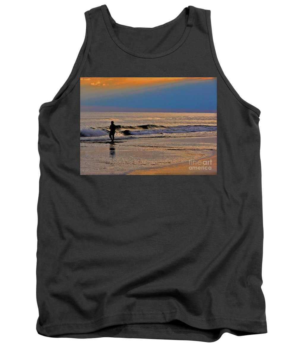 Shadows Tank Top featuring the photograph The Decision by Lydia Holly