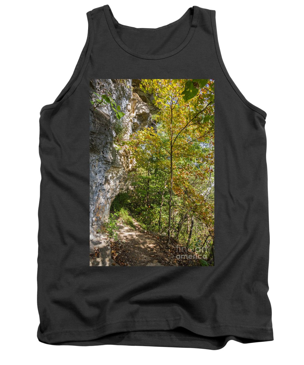 Branson Tank Top featuring the photograph Trails by Ashley M Conger
