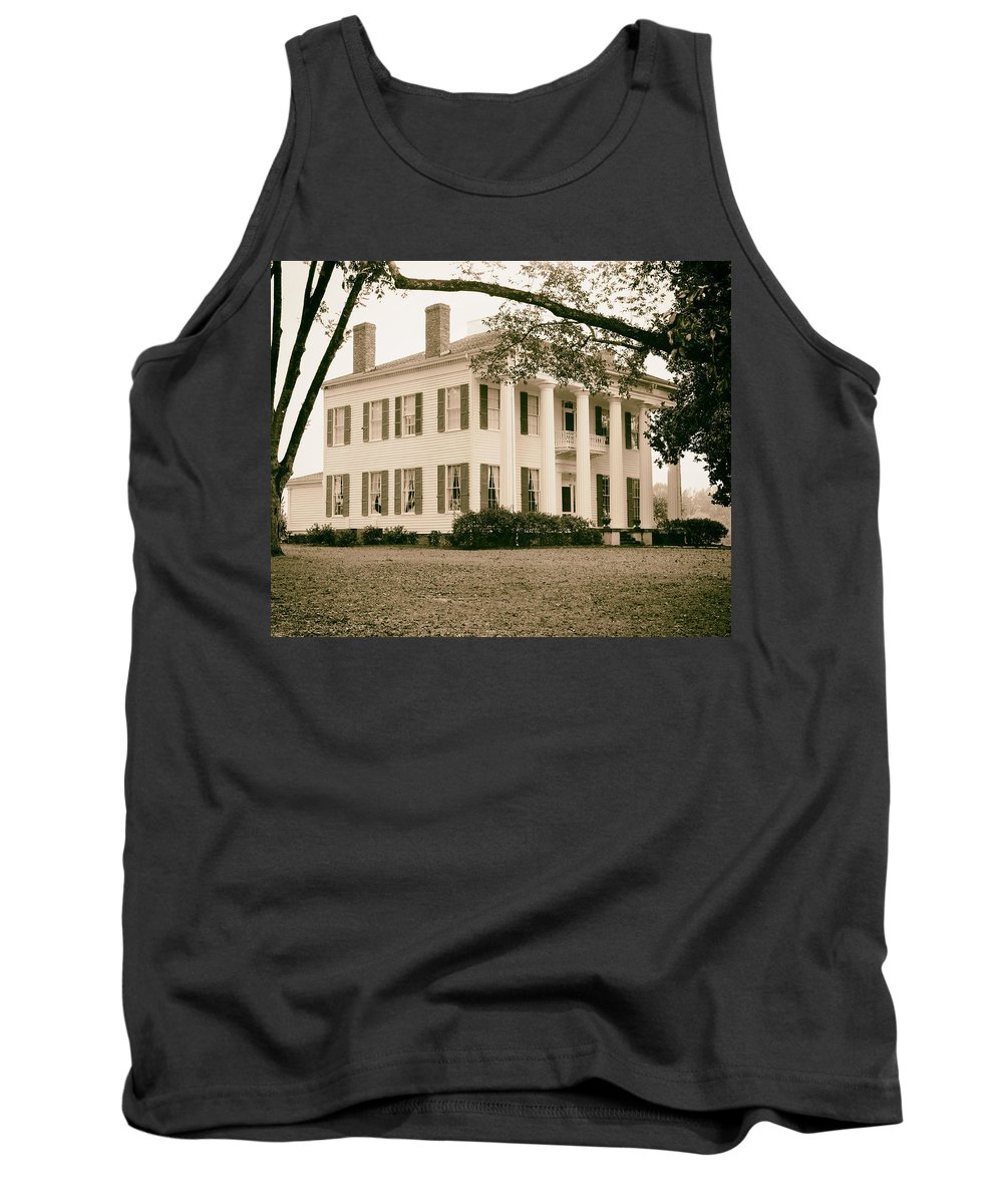 Alabama Tank Top featuring the photograph Warren Stone House In Alabama by Mountain Dreams