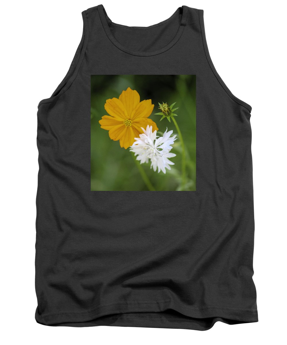 Color Digital Photography Tank Top featuring the photograph Wild Flowers by Paul Shefferly
