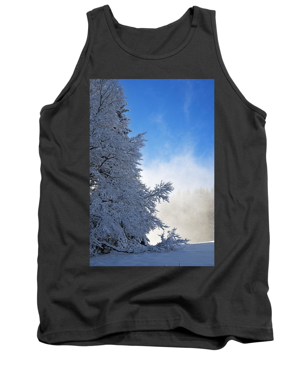 Winter Tank Top featuring the photograph Winter Landscape by Chevy Fleet