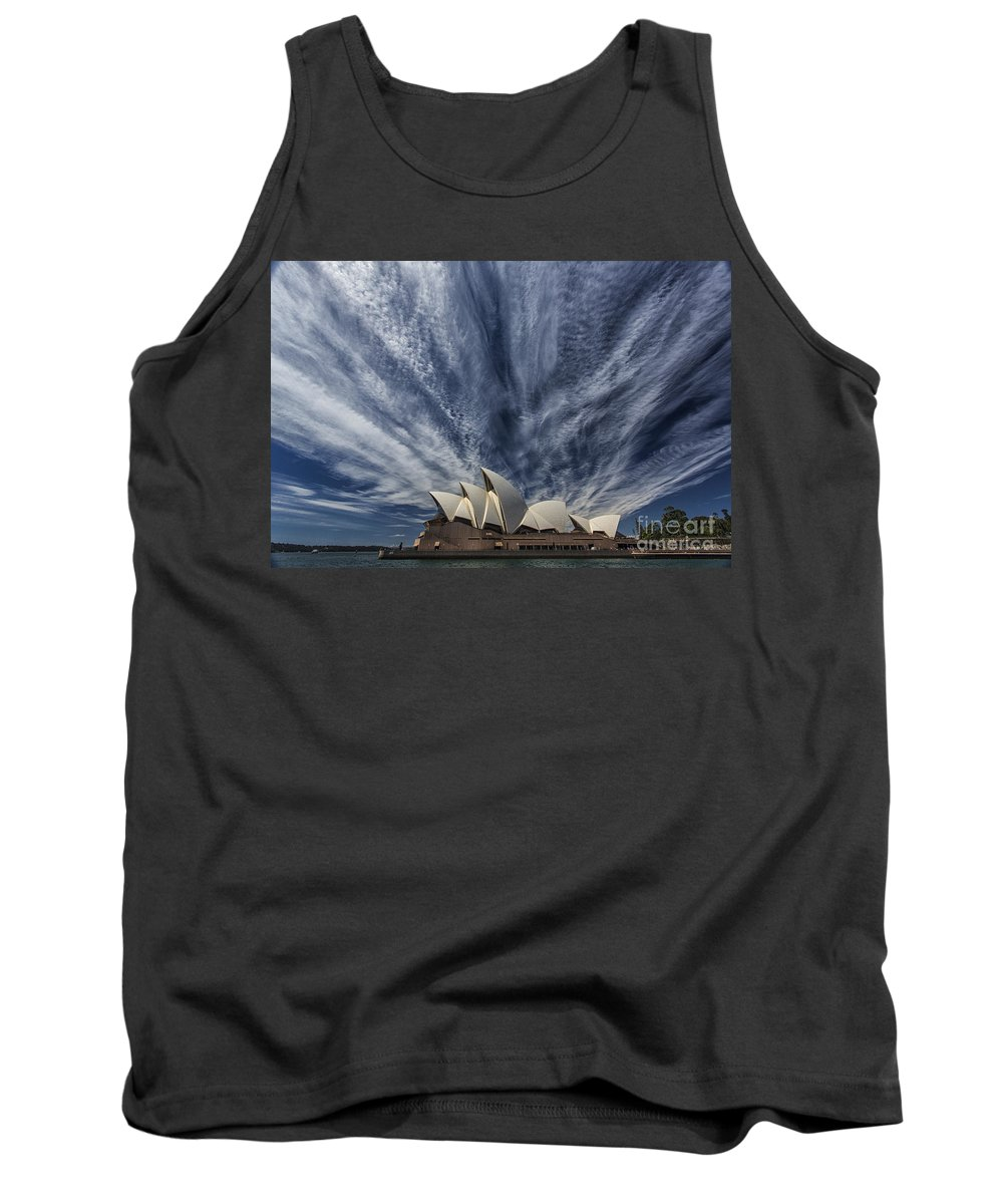 Sydney Opera House Tank Top featuring the photograph Sydney Opera House by Sheila Smart Fine Art Photography