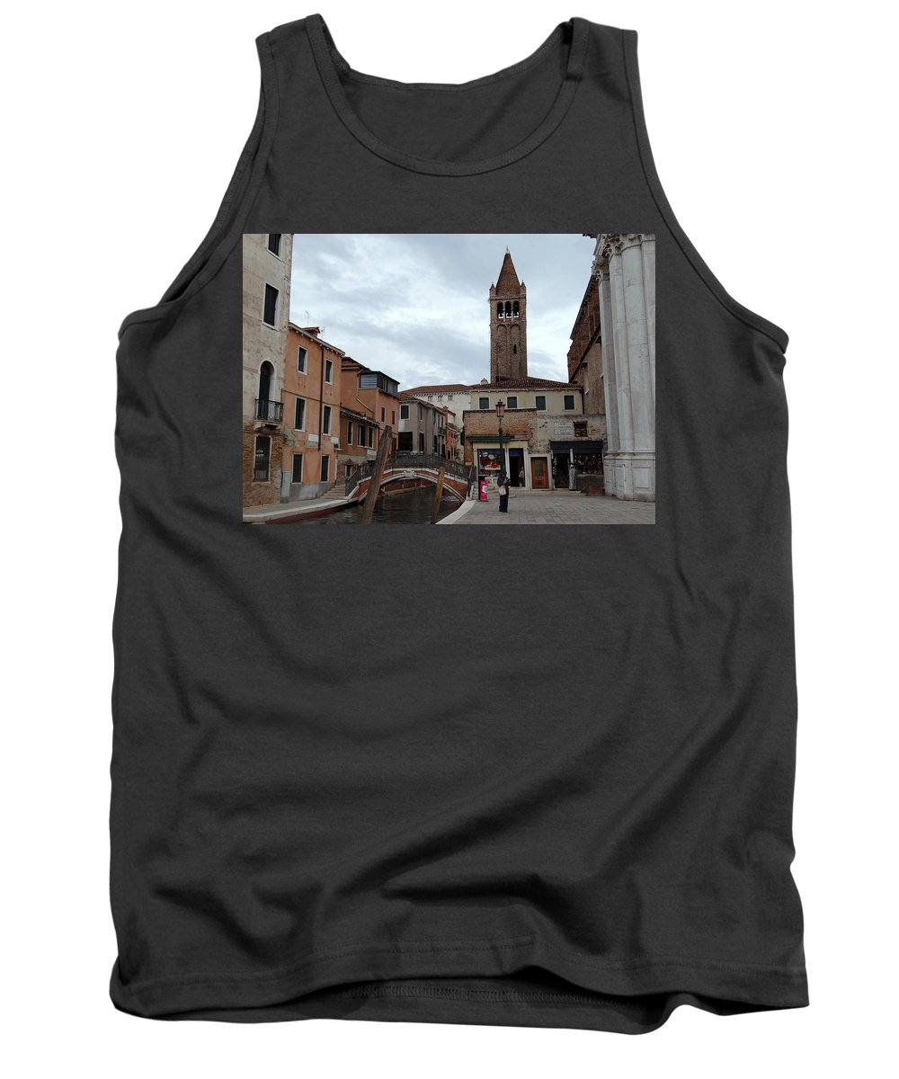 Venice Tank Top featuring the photograph Venice Views by Richard Rosenshein