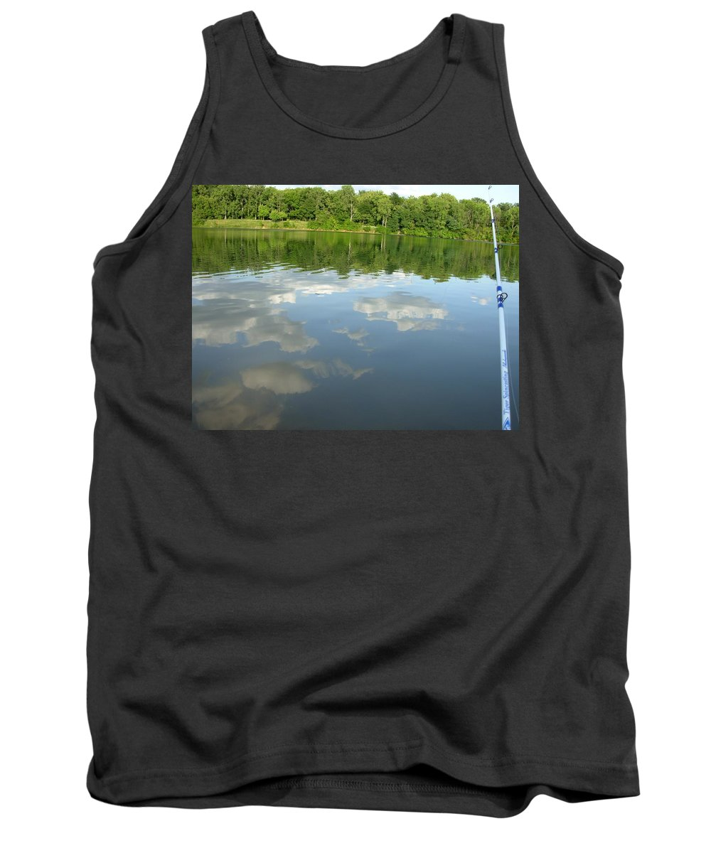 Lake Tank Top featuring the photograph 1263c by Kimberlie Gerner