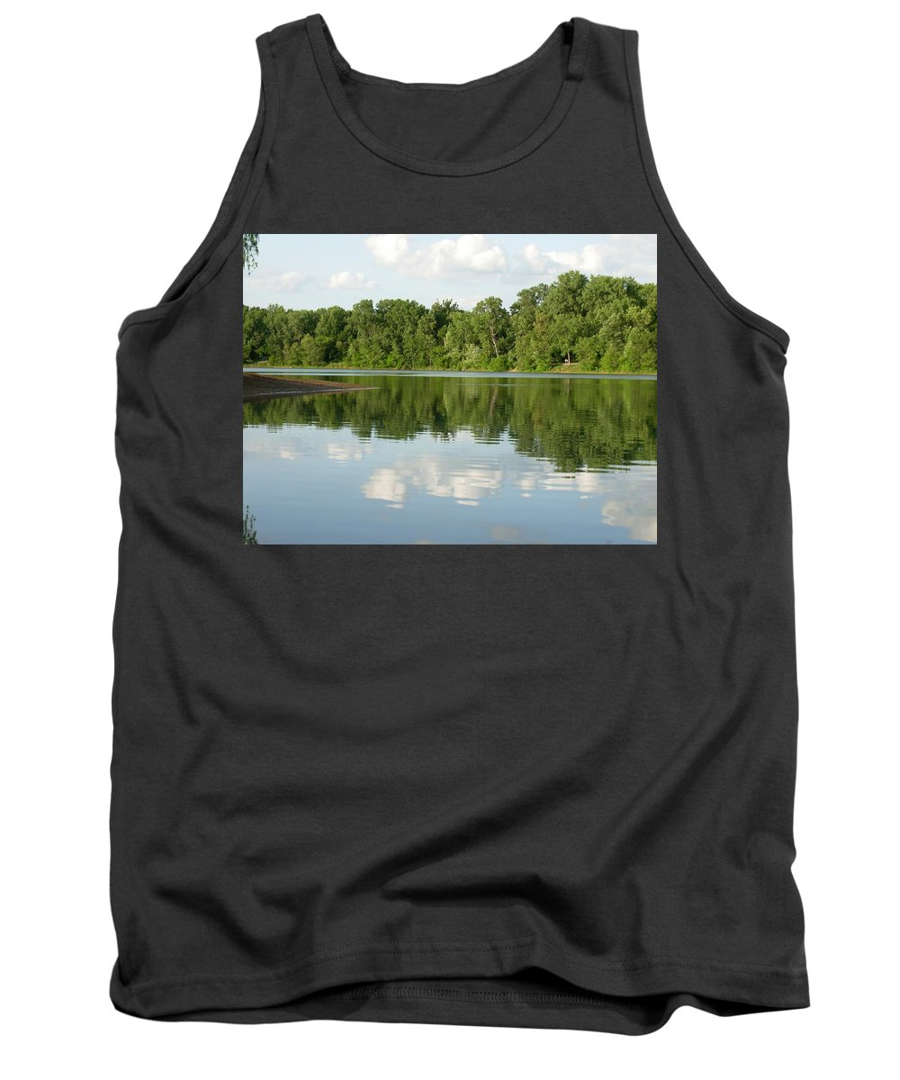 Lake Tank Top featuring the photograph 1273c by Kimberlie Gerner