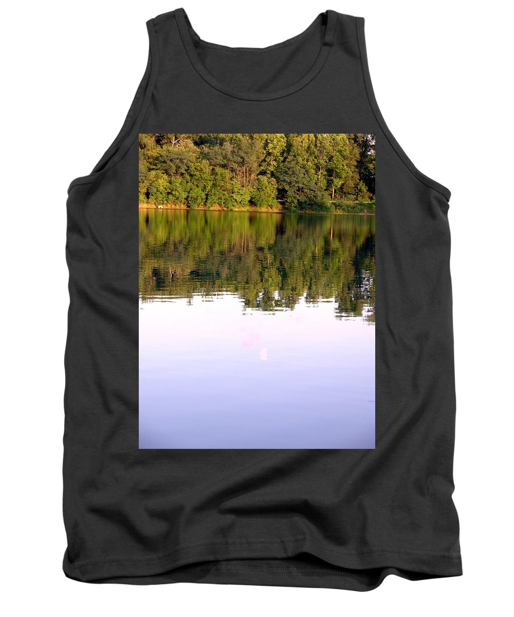 Lake Tank Top featuring the photograph 1276c by Kimberlie Gerner