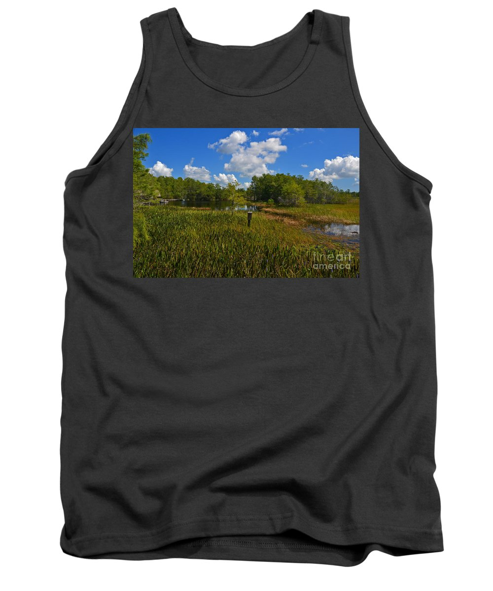 Tank Top featuring the photograph 13- Florida Everglades by Joseph Keane
