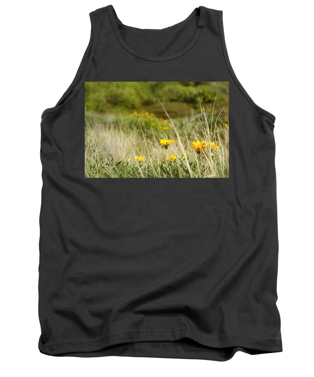 Flowers Tank Top featuring the photograph Flowers by Les Cunliffe