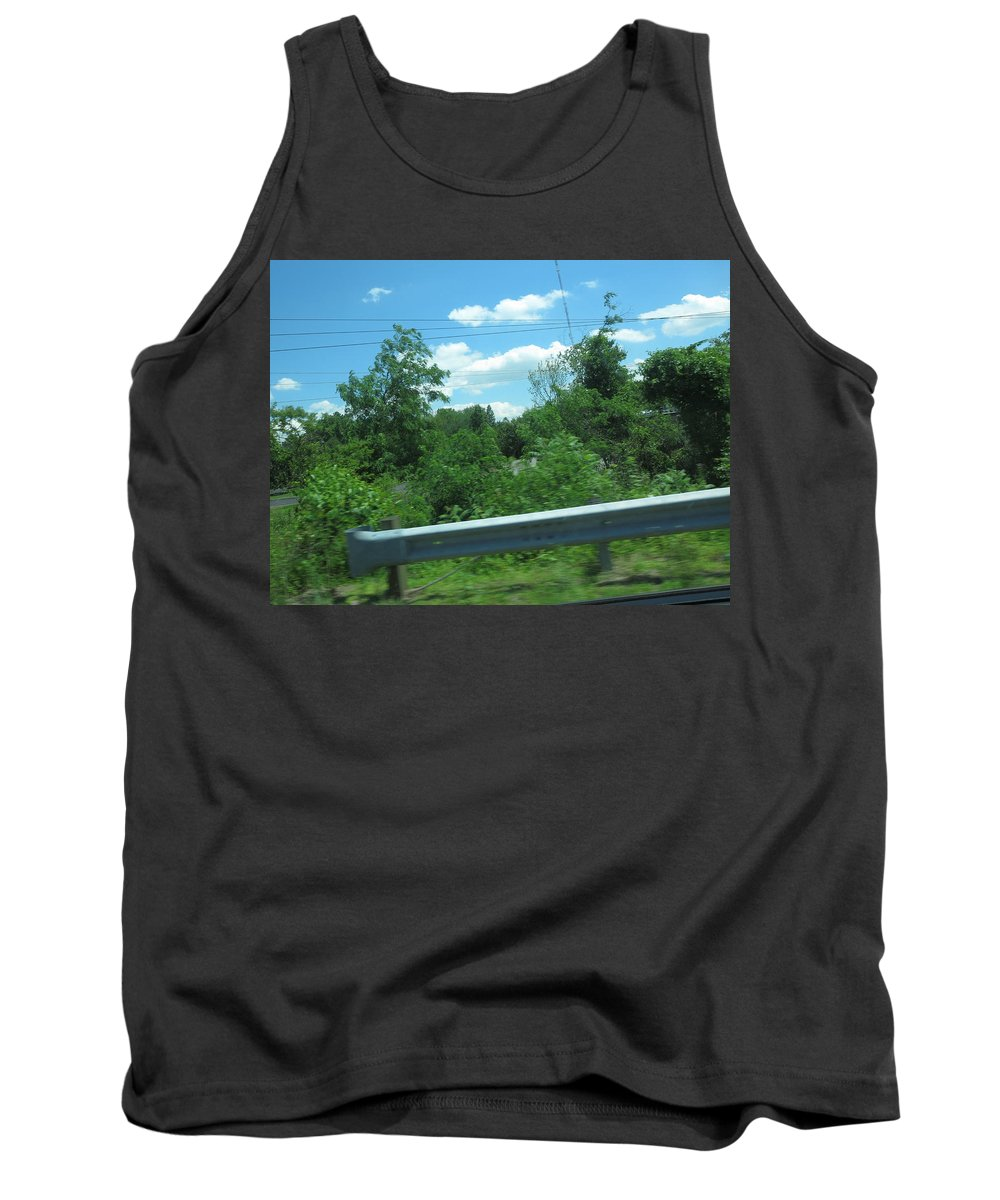 Nature Tank Top featuring the photograph Perfect Angle Photos From Moving Car Windows Closed Navinjoshi Rights Managed Images Graphic Design by Navin Joshi