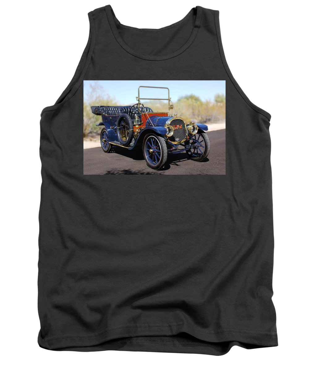 1910 Pope Hartford Model T Tank Top featuring the photograph 1910 Pope Hartford Model T by Jill Reger