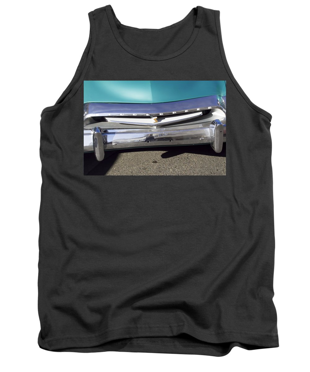1955 Studebaker Coupe Tank Top featuring the photograph 1955 Studebaker Coupe 2 by Cathy Anderson