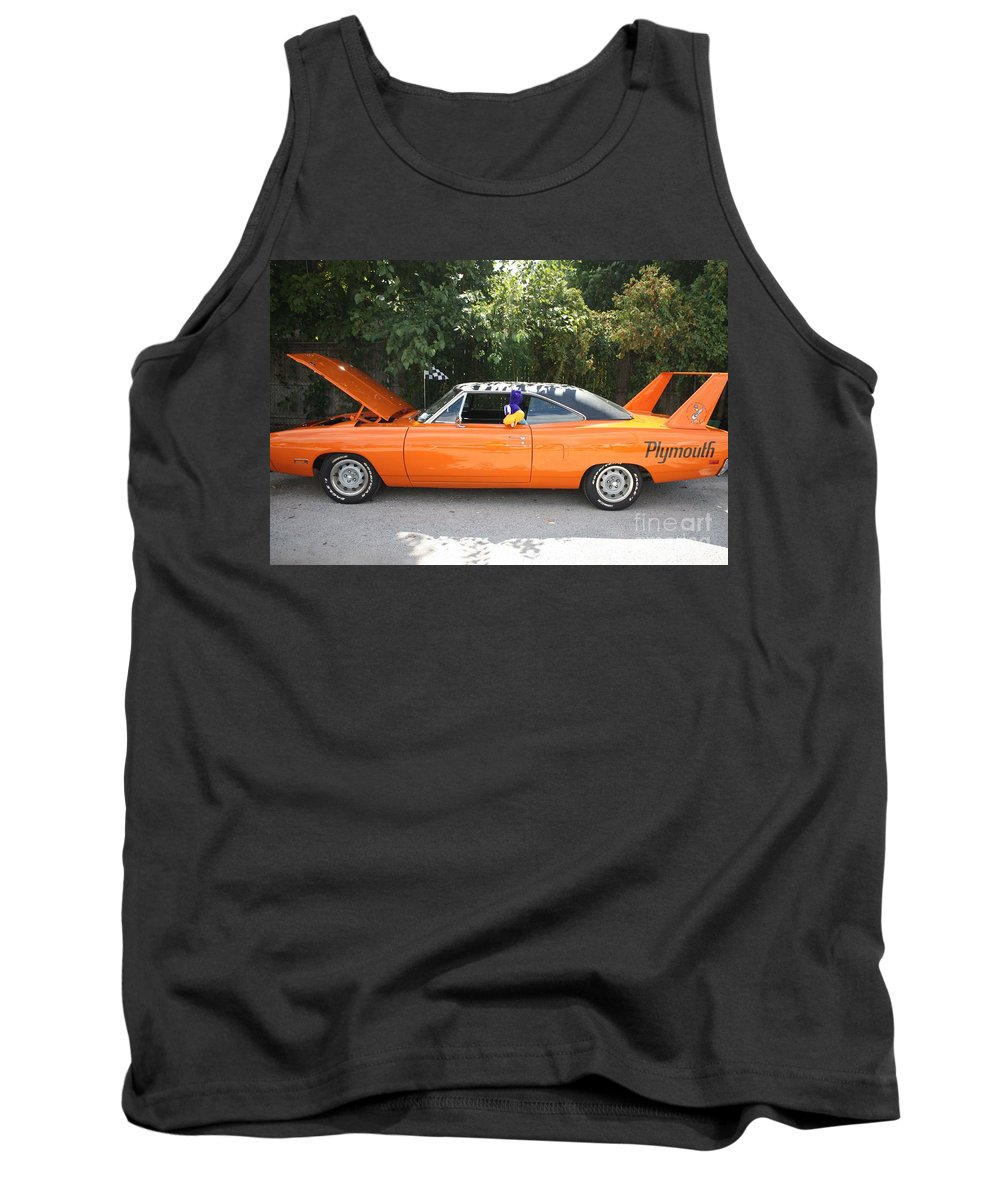 1970 Plymouth Dodge Superbird Tank Top featuring the photograph 1970 Plymouth Dodge Superbird by John Telfer