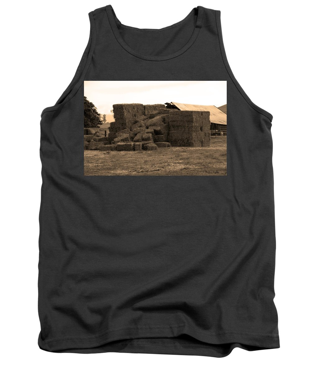 Needle In A Haystack Tank Top featuring the photograph A Needle In A Haystack by Barbara Snyder