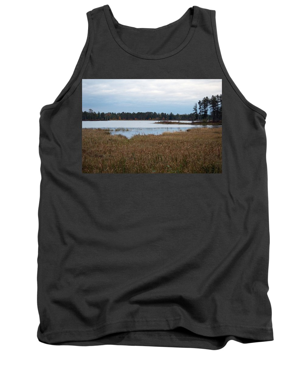 Nature Tank Top featuring the photograph Calm Water by Linda Kerkau