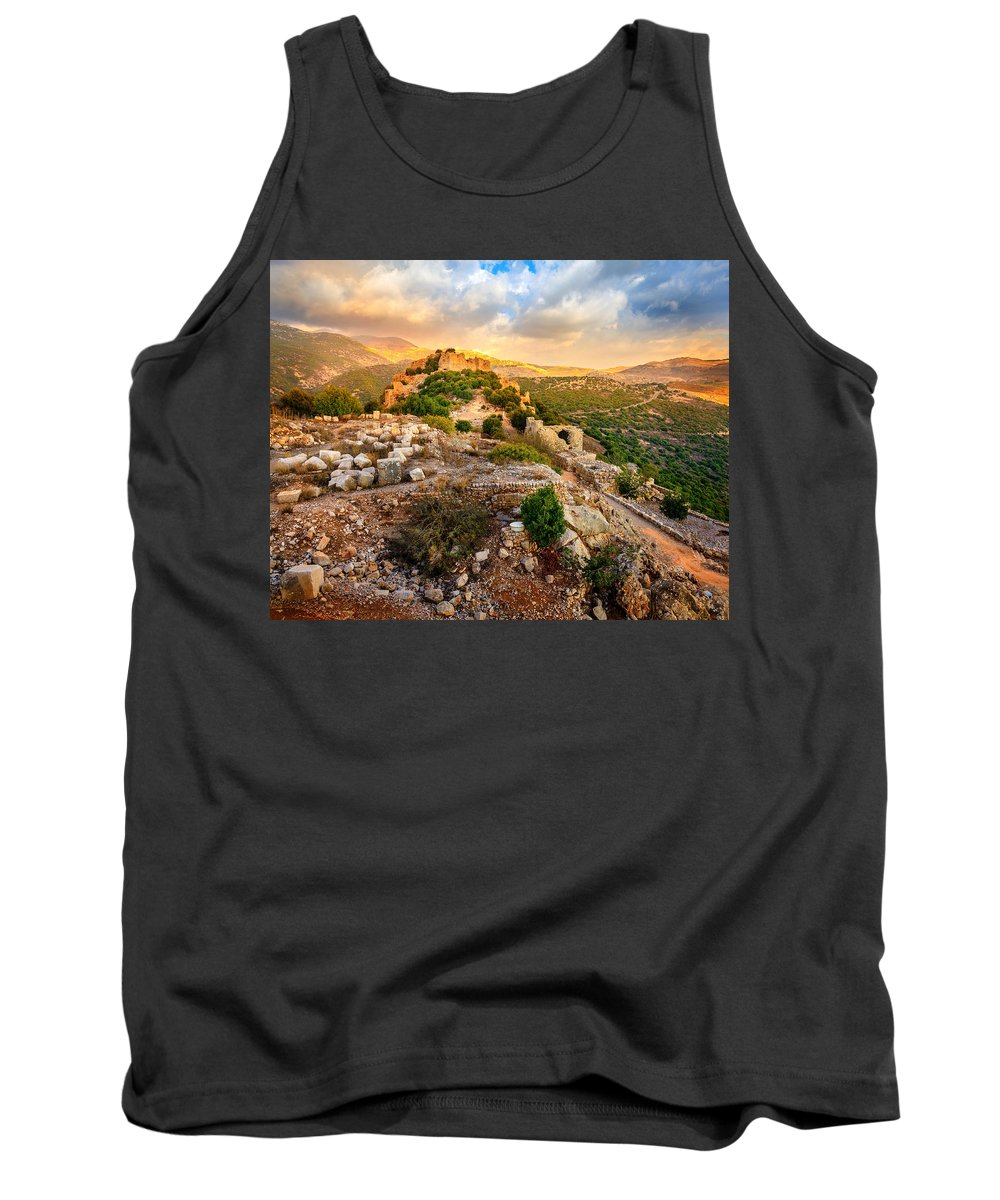 Castle Tank Top featuring the photograph Castle Nimrod by Alexey Stiop