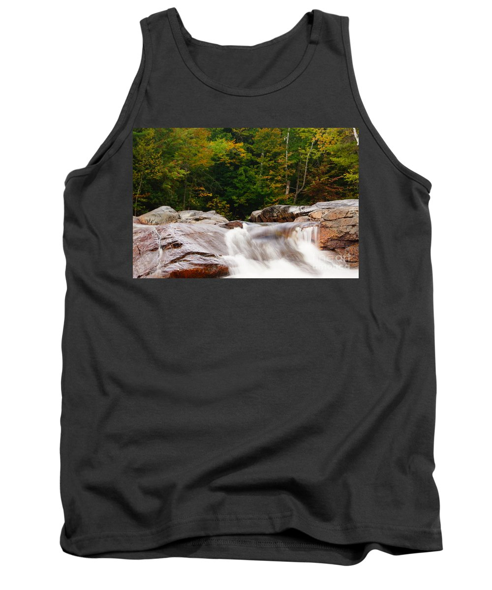 Waterfalls Tank Top featuring the photograph Little Falls by Jeffery L Bowers