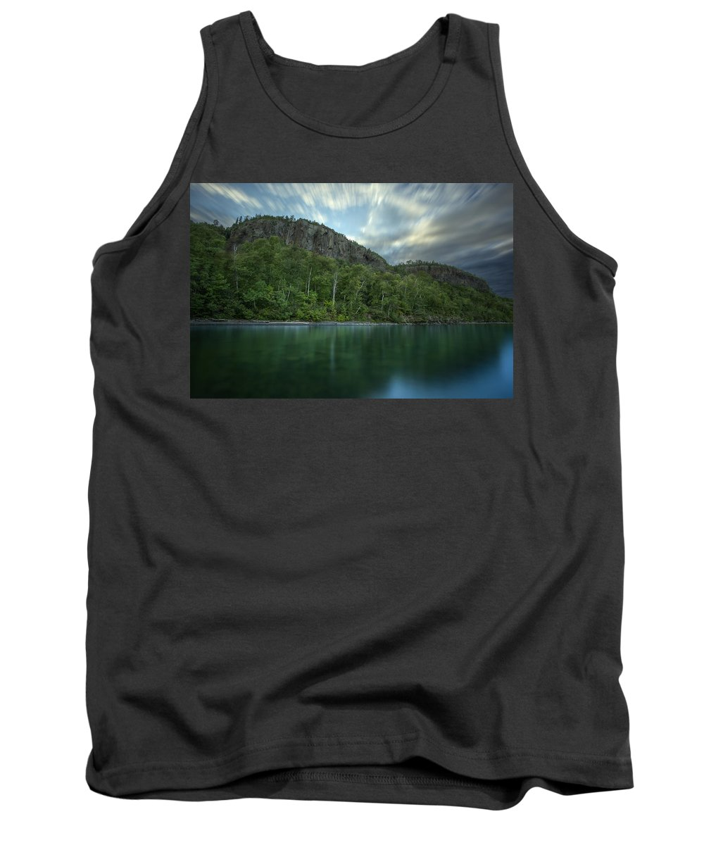 Aboriginal Tank Top featuring the photograph 2 Mile Point Cliffs by Jakub Sisak