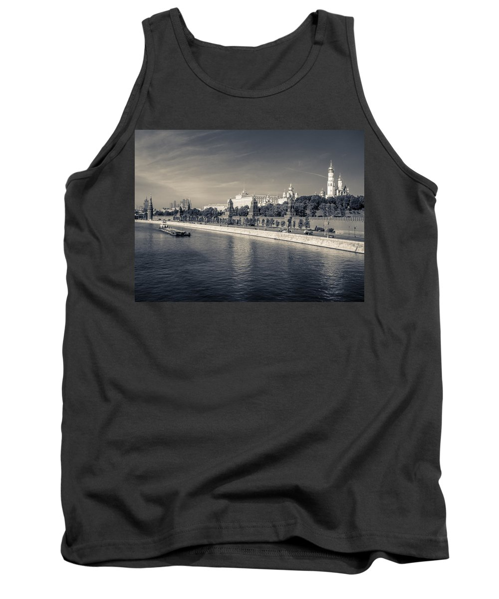 Europe Tank Top featuring the photograph Moscow. Kremlin by Alexey Stiop