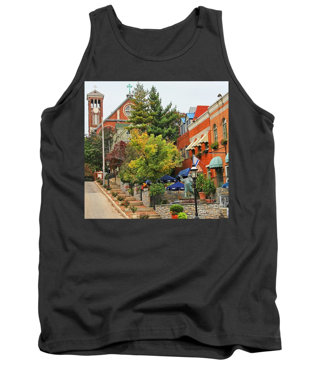 Mt Adams Tank Top featuring the photograph Mt Adams 9980 by Jack Schultz