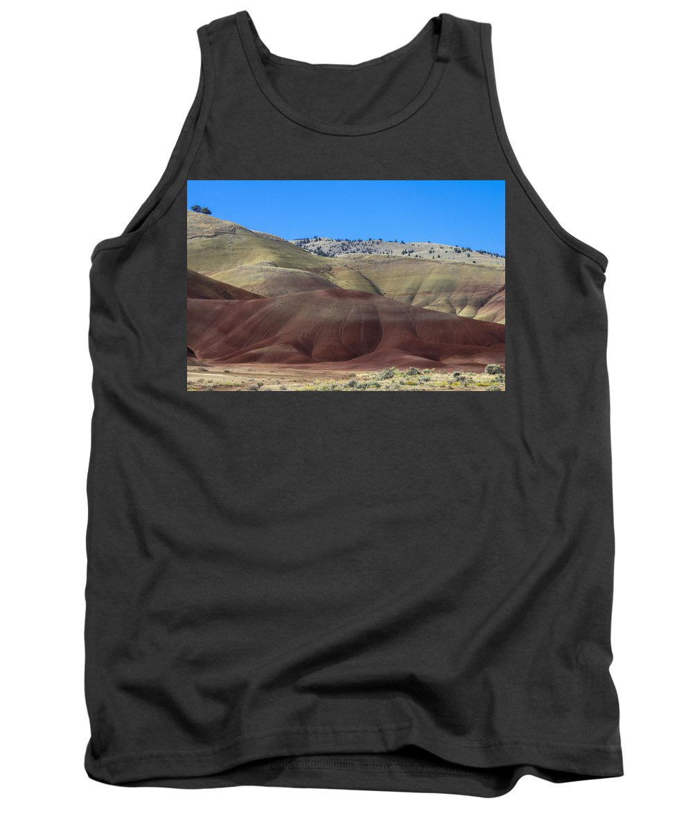 John Day Fossil Beds Tank Top featuring the photograph Painted Hills Of Oregon by John Trax