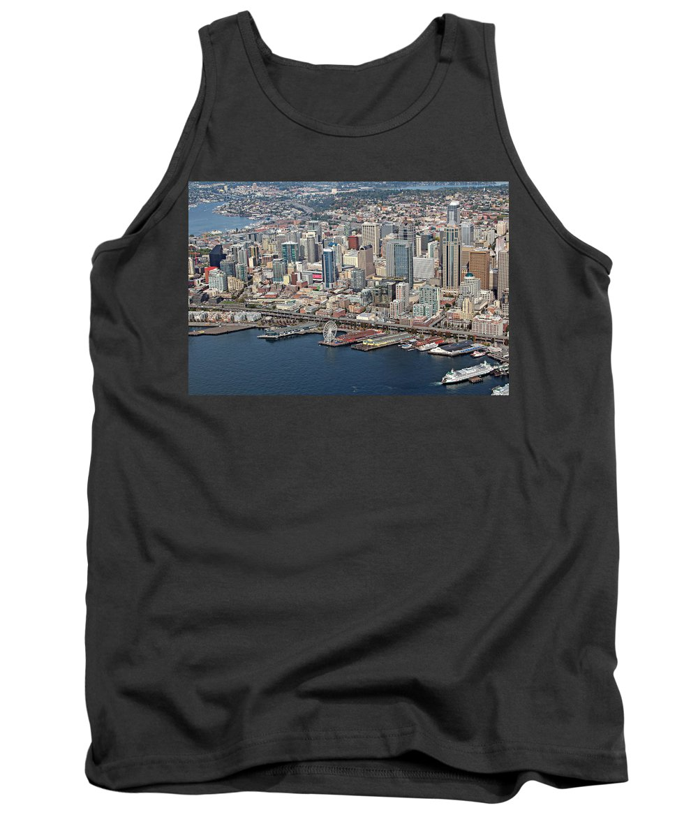 Seattle Tank Top featuring the photograph Seattle by Paul Fell