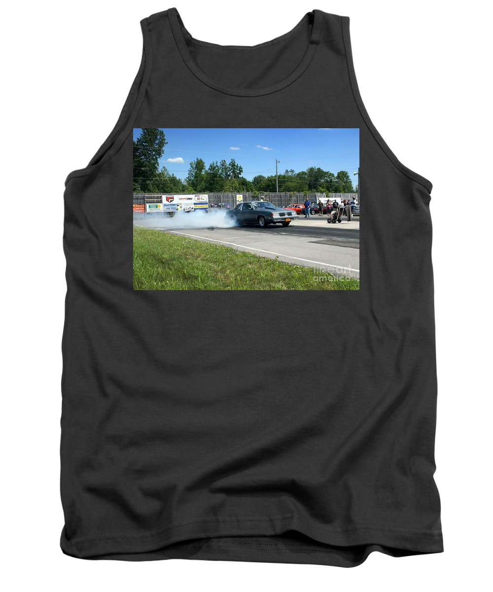 07-06-14 Tank Top featuring the photograph 2228 07-06-14 Esta Safety Park by Vicki Hopper