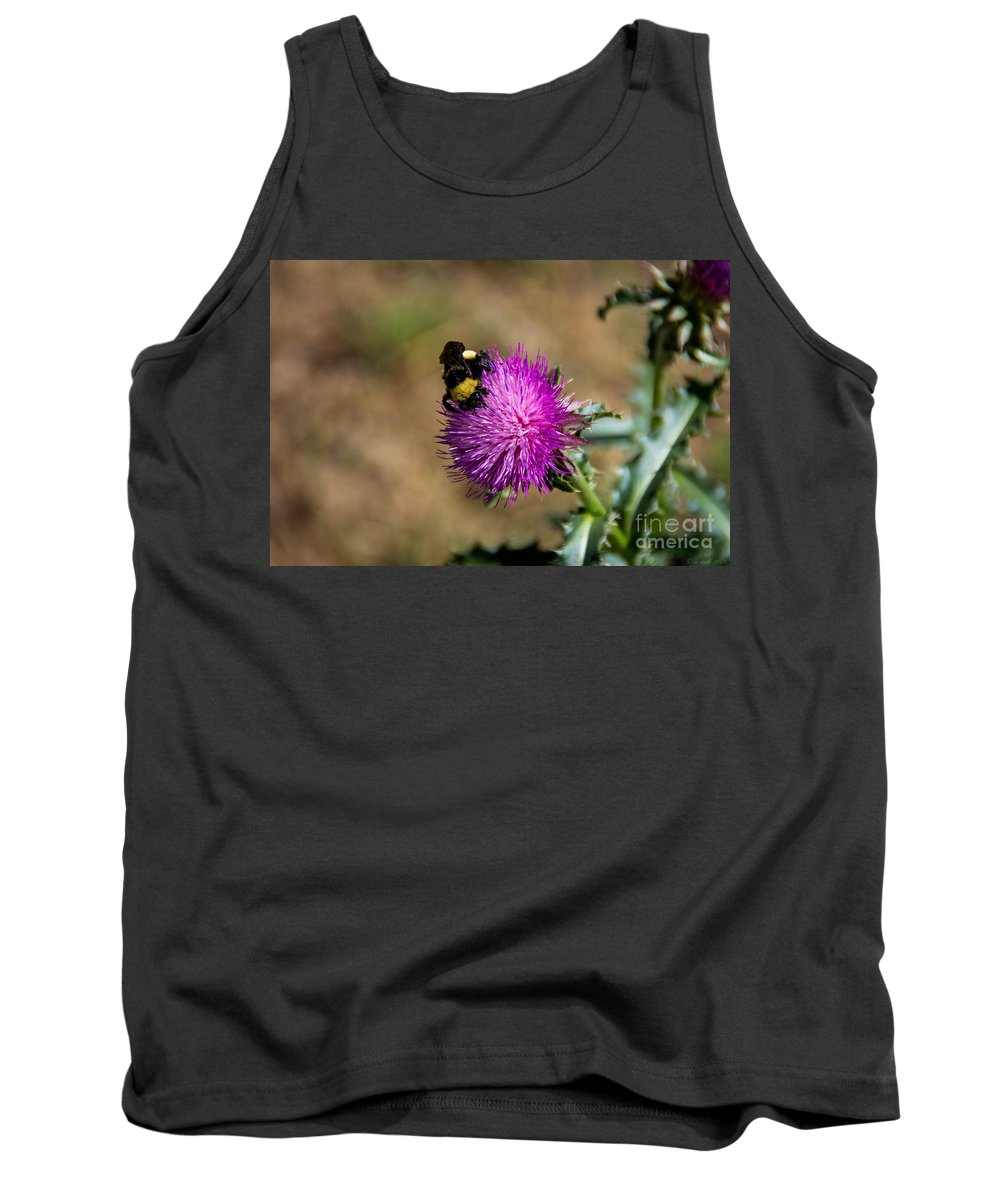 South Dakota Tank Top featuring the photograph 23013 by M Dale