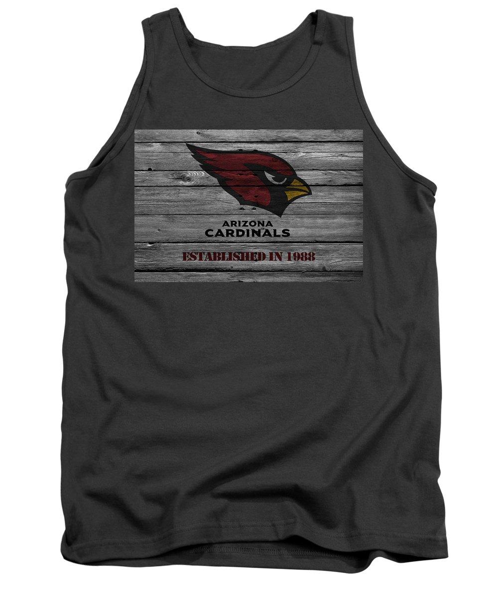 Cardinals Tank Top featuring the photograph Arizona Cardinals by Joe Hamilton