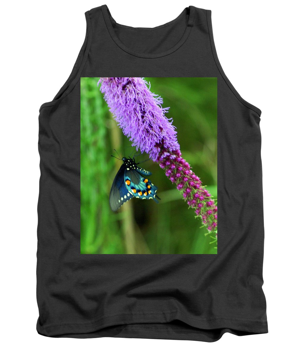 Butterflies Tank Top featuring the photograph 243 Butterfly by Marty Koch