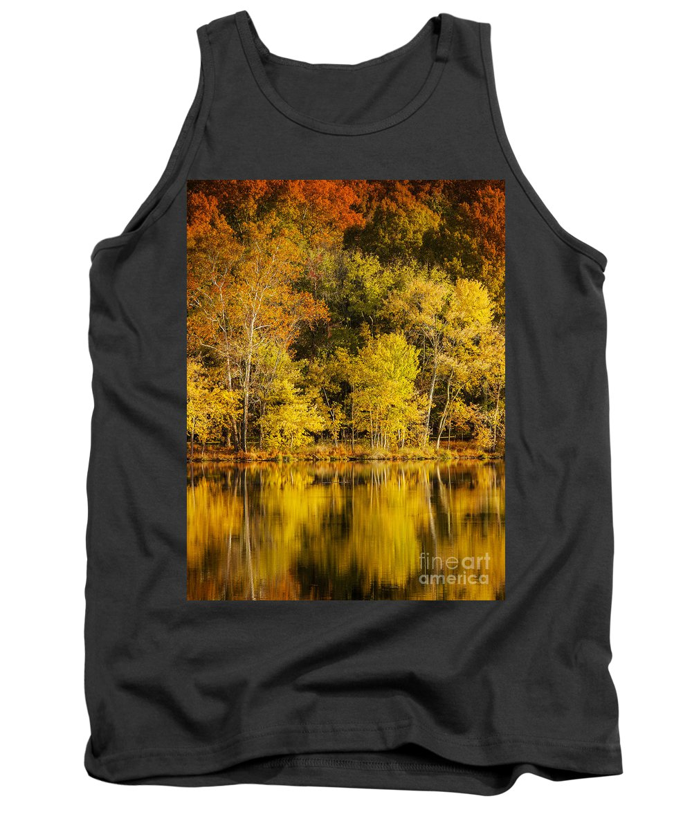 Autumn Tank Top featuring the photograph Autumn Color by Brian Jannsen