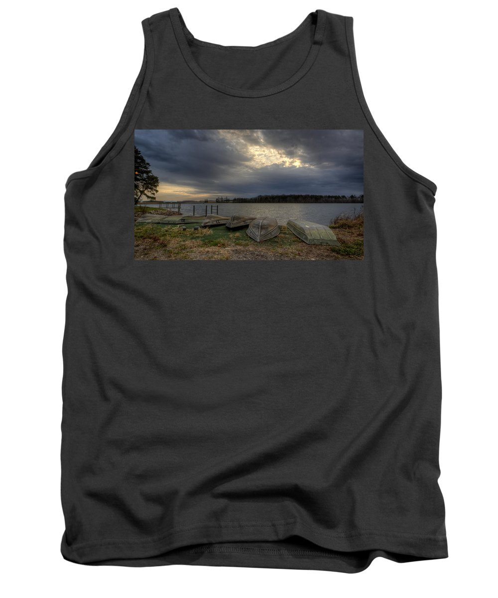 Boats Tank Top featuring the photograph Boat Rentals by David Dufresne